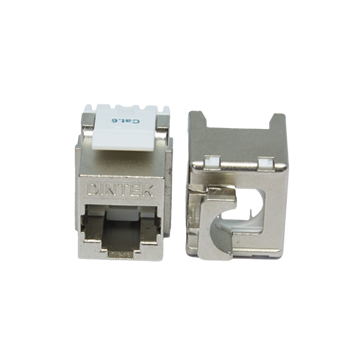 CAT6 vertical fully shielded jack 180