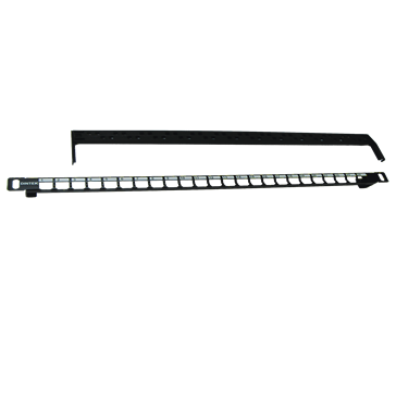 CAT6A 24p STP snap-in panel