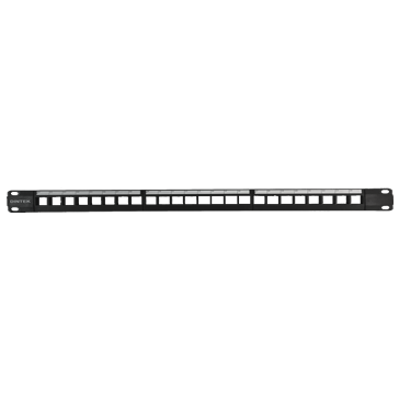 Cat6 24p snap-in patch panel