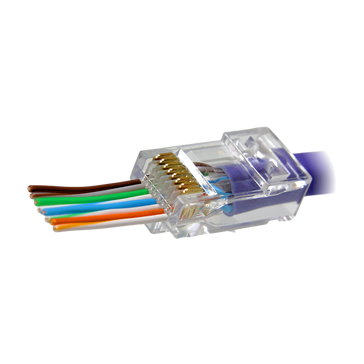 RJ45 Pass through ezi-plug